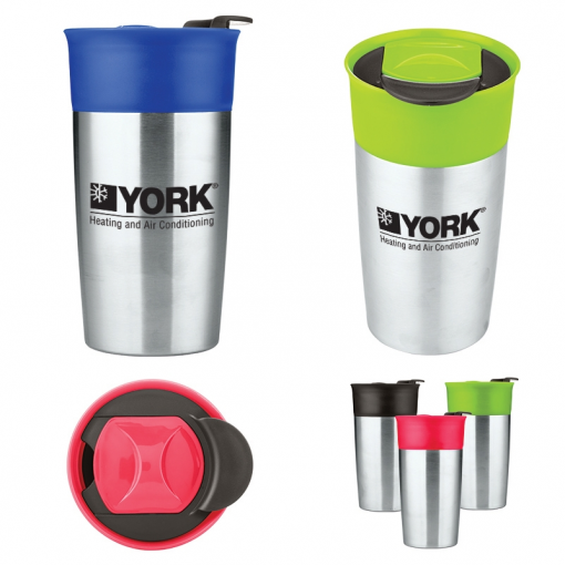 18 Oz. Two-Tone Double-Wall Insulated Tumbler