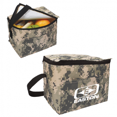 Digital Camouflage 6-Pack Cooler