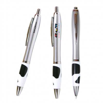 Emissary Click Pen (Cow Print)