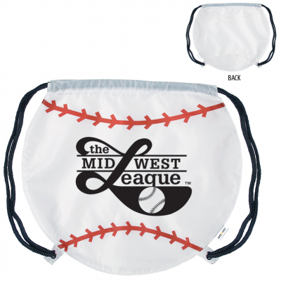 GameTime!® Baseball Drawstring Backpack