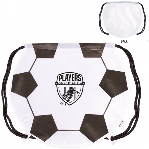 GameTime!® Soccer Ball Drawstring Backpack