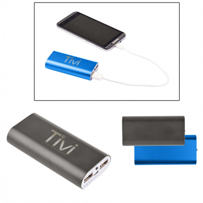 Mega Capacity Metal Power Bank Charger