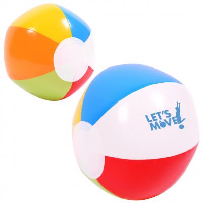 """Multi-Colored Beach Ball (6"""")"""