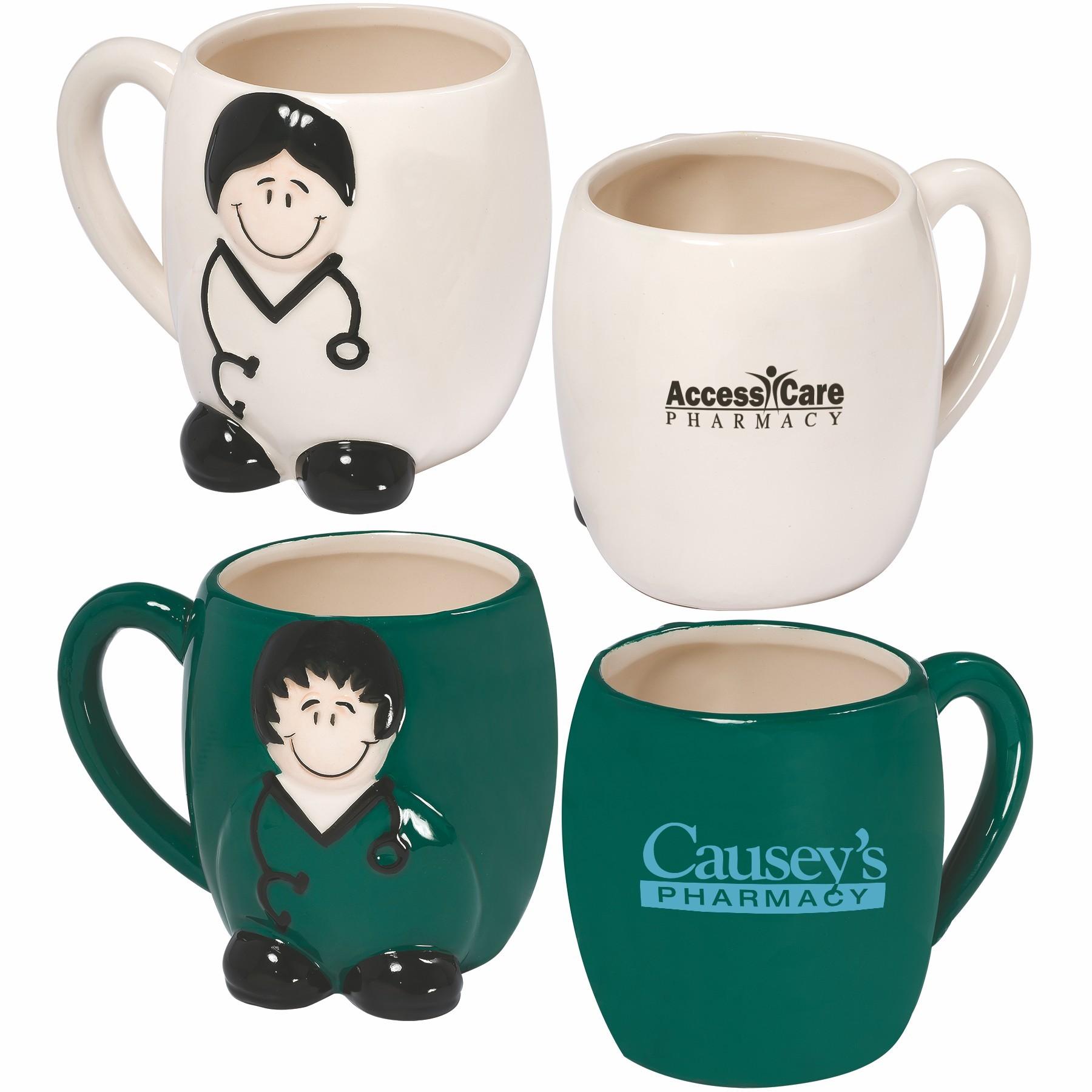14 oz Coffee Mug – Doctor Nurse