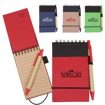 Eco/Recycled Jotter Notebook