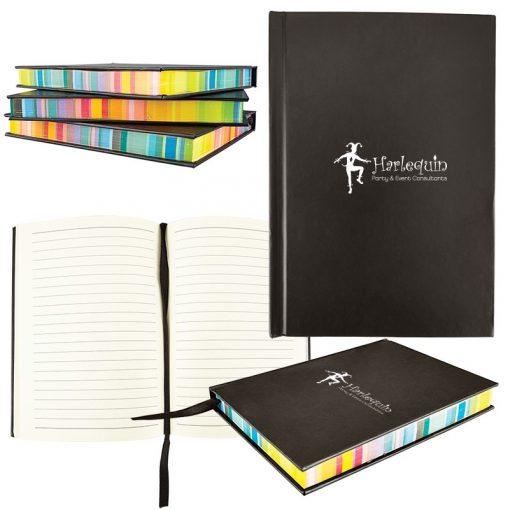 Multicolor Edge Notebook