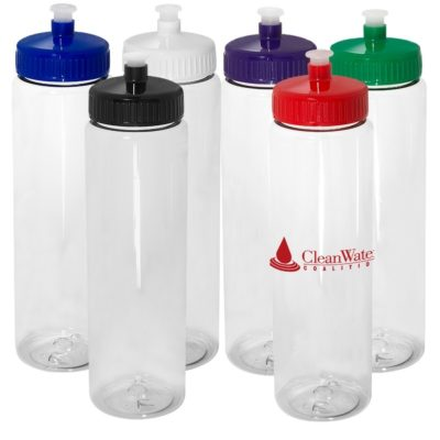32 Oz. Freedom Bottle w/Push-Pull Lid