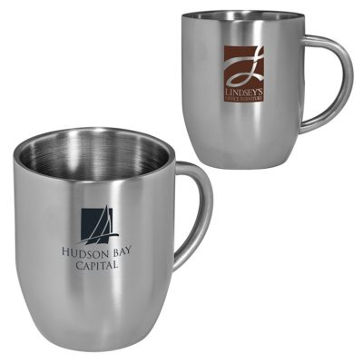 12 Oz. Double Wall Stainless Coffee Mug
