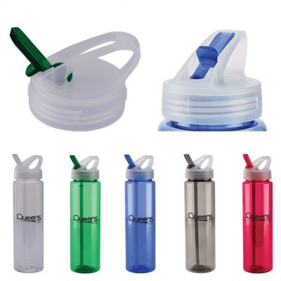 32 Oz. PET Freedom Bottle w/Flip-Up Sipper Lid