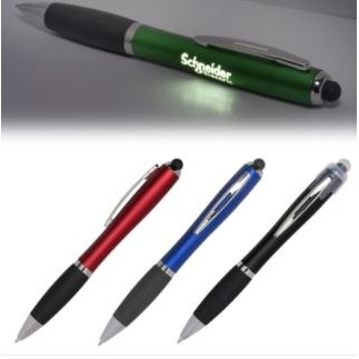 Budget Light-Up-Your-Logo Pen Stylus