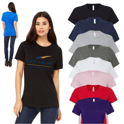 Ladies Bella+Canvas® Relaxed Fit Jersey Tee Shirt