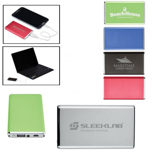 Ultra-Slim Power Bank Charger - UL Certified