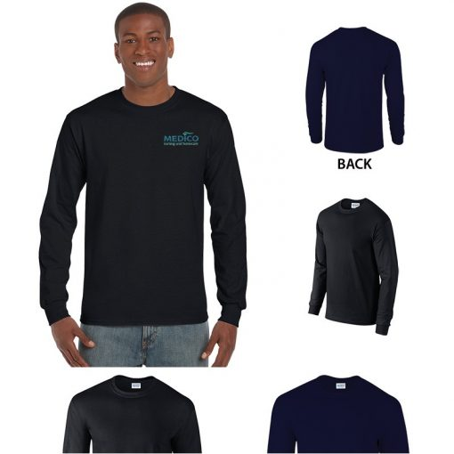 Adult Gildan® Ultra Cotton® Classic Fit Long Sleeve T-Shirt
