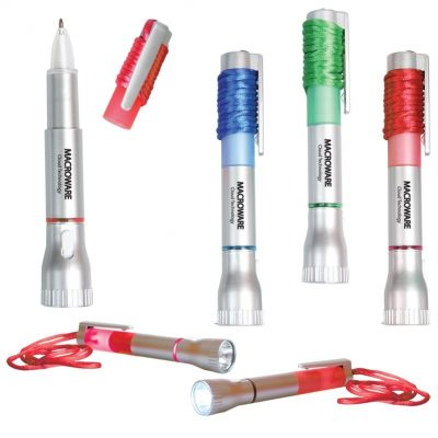 Pen Light w/Breakaway Lanyard