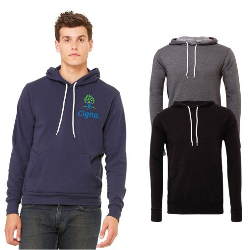 Unisex Bella+Canvas® Pullover Fleece Hoodie