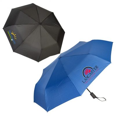 "43"" Auto Open/Close Folding Umbrella"