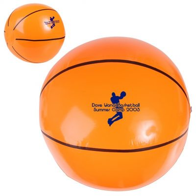 Basketball Shaped Beach Ball