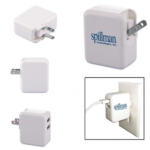 Duo USB to AC Adapter (UL Certified)