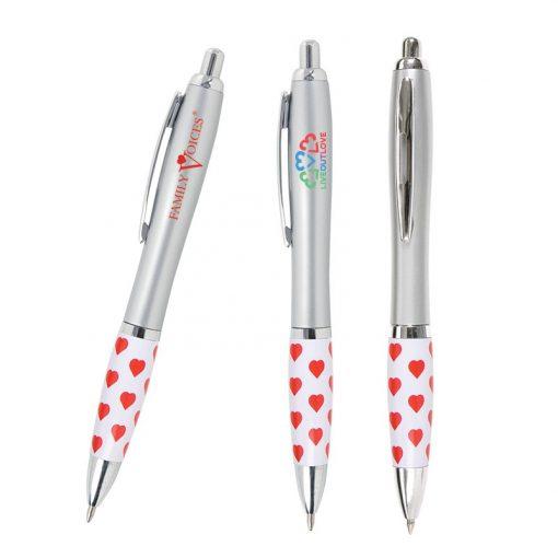 Emissary Heart Click Pen